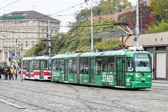 BRN_1094_201811 (Tram Photos) Tags: brno pragoimex variolf2re brünn strasenbahn tram tramway tramvaj tramwaj mhd šalina dopravnípodnikměstabrna dpmb vollwerbung ganzreklame