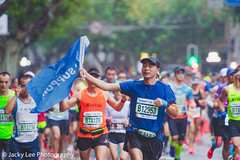 LD4_9384 (晴雨初霽) Tags: shanghai marathon race run sports photography photo nikon d4s dslr camera lens people china weekend november 2018 thousands city downtown town road street daytime rain staff
