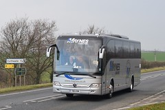 T80GSM  Maynes, Buckie (highlandreiver) Tags: t80gsm t80 gsm maynes coaches buckie mercedes benz tourismo bus coach a595 thursby wigton cumbria