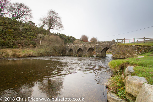 The River Barle at Landacre, Exmoor