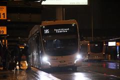 Schiphol  VDL Citea SLFA 181 bus no.9709 , Schiphol 23.12.2018 (szogun000) Tags: amsterdam netherlands nederland city cityscape vehicle bus autobus vdl vdlcitea electric citeaslfa181 connexxion 9709 line185 masstransit publictransit transportation urban night nightshot noordholland northholland canon canoneos550d canonefs18135mmf3556is