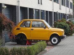 Fiat 126 from Poland (harry_nl) Tags: netherlands nederland 2018 eindhoven fiat 126
