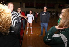 IMG_2321 (SJH Foto) Tags: girls high school volleyball emmaus garnet valley state pool play championships canon 1018 f4556 stm superwide lens pregame ceremonies ref referee captains coin toss