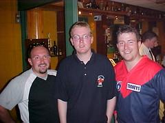 Tigers Founder Paul Ryan with ARFLI Founders Ciaran O_ Hara _ Michael Currane 2001 (Australian Embassy Ireland) Tags: afl football aussie rules