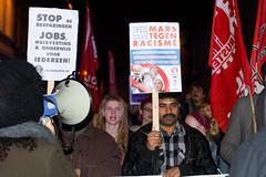 Manifestation anti-NSV betoging
