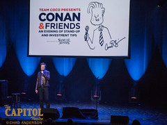 conan and friends 11.7.18 photos by chad anderson-7979 (capitoltheatre) Tags: thecapitoltheatre capitoltheatre thecap conan conanobrien conanfriends housephotographer portchester portchesterny comedy comedian funny laugh joke