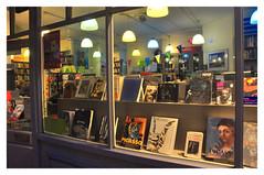 Books -Framed (Clive Varley) Tags: bookshops oxfamsoho shopwindows london gimp2106partha gmic october2018