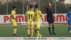 LN Juvenil. Villarreal CF B 1-0 CF Torre Levante B (25/11/2018), Jorge Sastriques