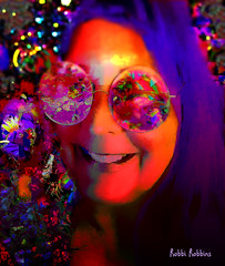 Purple Hair (brillianthues) Tags: selfie purple colorful collage abstract photography photmanuplation photoshop