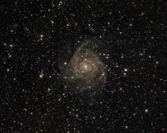 IC342 - Hidden Galaxy in Camelopardalis - DSLR OSC - 2018-11-07 (garbazo) Tags: ic342 hiddengalaxy galaxy canon xsi 450d astronomy astrophoto astroimage
