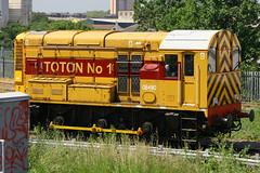 08480, Bow, June 4th 2010 (Southsea_Matt) Tags: 08480 class08 shunter diesellocomotive bow greaterlondon england unitedkingdom 2010 summer june canon 30d train railway railroad freight