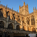 Bath Abbey in Late Afternoon Sunlight