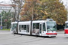 BRN_1806_201811 (Tram Photos) Tags: brno brünn strasenbahn tram tramway tramvaj tramwaj mhd šalina dopravnípodnikměstabrna dpmb škoda 03t skoda anitra astra vollwerbung ganzreklame
