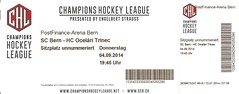 "SC Bern - HC Ocelári Trinec 0:4 • <a style=""font-size:0.8em;"" href=""http://www.flickr.com/photos/79906204@N00/45219124035/"" target=""_blank"">View on Flickr</a>"