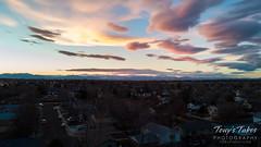 November 16, 2018 - Drone shot of sunset. (Tony's Takes)