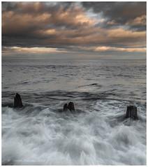 Cauldron (Steven Peachey) Tags: beach seaham canon stevenpeachey seascape sunset ef1740mmf4l canon5dmarkiv northeastengland lee09gnd durhamheritagecoast uk explored explore