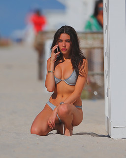 Madison Beer Beach