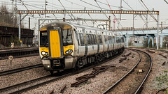 387108 (JOHN BRACE) Tags: 2014 bombardier derby built class 387 electrostar emu 387108 seen harringay station great northern white livery