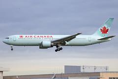 Air Canada - Boeing 767-375ER C-FPCA @ London Heathrow (Shaun Grist) Tags: cfpca ac aircanada boeing 767 shaungrist lhr egll london londonheathrow heathrow airport aircraft aviation aeroplanes airline avgeek landing 27l
