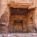 Rock-cut tomb in Petra