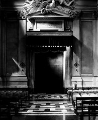 Part of the cathedral in Taormina sicily. (Anthony. B) Tags: taormina bnw blackandwhite church cathedral d7000 nikon sicily italy photographer photography