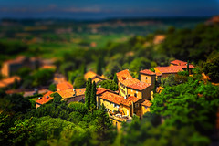 french toy village (-liyen-) Tags: tiltshift village france fujixt2 photoshop mpt679 matchpointwinner