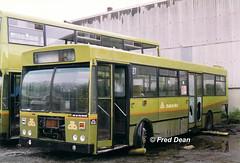 Dublin Bus KC46 (ZSI46). (Fred Dean Jnr) Tags: dublinbus kc46 zsi46 broadstone dublin april1999 busathacliath scrap gac dublinbustwotonegreenlivery broadstonedepotdublin buseireannbroadstonedepot