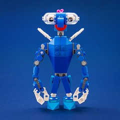 Monster with a cherry on top 2.0 (Milan Sekiz) Tags: lego monster blue cherry toy