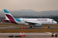 A319 OE-LYZ Eurowings - Edinburgh Airport 27/12/18 (robert_pittuck) Tags: a319 oelyz eurowings edinburgh airport 271218