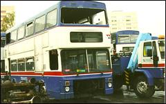 2446 (NOA 446X) ((Stop) The Clocks) Tags: 2446 millerstreet mcw mcwmetrobus noa446x wmpte wmt twm westmidlandstravel withdrawnbuses