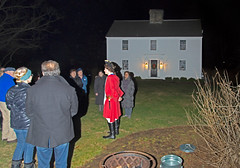 Holiday Lantern Tour 2018 (Madison Historical Society (CT-USA)) Tags: old nightshot night nighttime madisonhistoricalsociety madisonhistory mhs madison connecticut ct conn connecticutscenes country usa newengland nikon nikond600 d600 bobgundersen architecture house home building interesting image picture photo places shot shoreline scene scenes outside outdoor exterior design reenactor crowd costume people christmas holidays xmas