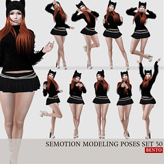 SEmotion Female Bento Modeling poses set 50 (Marie Sims) Tags: semotion ao animations animation avatar anim animaitons animaions animated aohud animarions event 3d expression emotion expressions release rigged trendy trend yummy guys unisex hud fun funny inworld girly pose poses posing photographer photosl photo ptoho hq sl secondlife stands slfashion slavatar female fashion fancy feelings gift girl kawaii mocap modeling model mood woman bento new