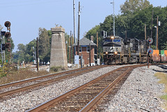 """""""Lenox Over"""" (GLC 392) Tags: lenox tower cpl color position light signal signals railroad railway train ge granite city il illinois ns norfolk southern search tri lights g style 9482 d940cw d944cw d8540cw 8510d840cw 8324"""