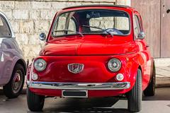 Fiat 500 Giannini rossa (Attilio Iacobone) Tags: fiat 500 giannini auto epoca storia history car vintage classic italia italy raduno veicolo transporto corsa race foto fotografia photo photography canon