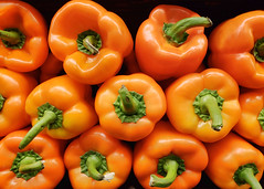 012/365 Orange Peppers (Helen Orozco) Tags: day12365 365the2019edition bellpepper capsicum orange vegetable colour realfood