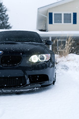 Winter E92 M3 4 (Arlen Liverman) Tags: exotic maryland automotivephotographer automotivephotography aml amlphotographscom car vehicle sports bmw bmwusa snow winter e92 m3