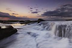 Flow || Turimetta Headland (David Marriott - Sydney) Tags: sydney newsouthwales australia au turimetta headland sunrise dawn long exposure wave water cloud