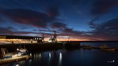 3ème bassin... (Patrice Le Roux) Tags: sunsetsunrise finistère bzh port bretagne brest bateau mer