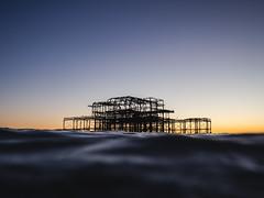 Brighton's West Pier (lomokev) Tags: england unitedkingdom gb file:name=180926omdem59260855 westpier pier sea ocean brighton dof depthoffield focus olympusomdem5 olympus omd em5 olympusomd wildswimming