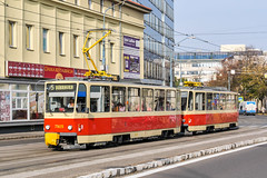 BTS_7925_201811 (Tram Photos) Tags: ckd tatra t6a5 bratislava dopravnýpodnikbratislava dpb strasenbahn tram tramway električková mhd električka