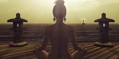 Zen (Valenska Voljeti) Tags: secondlife sl meditation zen calm
