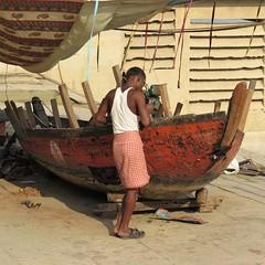 varanasi 2017 (gerben more) Tags: varanasi benares work boat man india