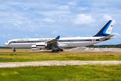 HS-TYV A345 ROYAL THAI AIRFORCE YBBN (Sierra Delta Aviation) Tags: royal thai air force airbus a340 a345 brisbane airport ybbn hstyv