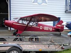 PA-18 Cub G-BBYB Shoreham (oldpeckhamboy1) Tags: shoreham
