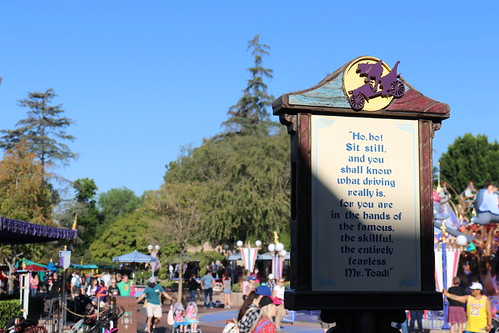 """Mr. Toad Ride Sign • <a style=""""font-size:0.8em;"""" href=""""http://www.flickr.com/photos/28558260@N04/45999345522/"""" target=""""_blank"""">View on Flickr</a>"""