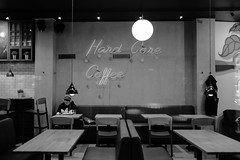 CALLED MANY PLACES MY HOME LITTLE DARLIN', BUT I ONLY COME FROM ONE (hobokollektiv | ʌıʇʞǝlloʞoqoɥ) Tags: 2018 35mm amosrex florianfritsch hardcorecoffee helsinki leica leicam9 salomonkatu bw blackandwhite folks hobokollektiv monochrome monographer newcontemporaryphotography schwarzweis schwarzweiss street thiscamerakillsfascists wwwhobokollektivnet finnland suomi