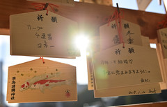 WISHES 願い事 (Sign-Z) Tags: nikon d5 2470mmf28g wish shrine japan hiroshima 神社 絵馬 広島