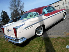 1955 Chrysler New Yorker Deluxe St. Regis (splattergraphics) Tags: 1955 chrysler newyorker stregis mopar carshow carlisle springcarlisle carlislepa
