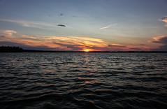 146-1 (Andre56154) Tags: schweden sweden sverige wasser water see lake sonne sun sonnenuntergang sunset landschaft landscape himmel sky wolke cloud