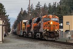 BNSF 6905 ~ Burlington (Chris City) Tags: train railway railroad mixed freight bnsf burlington washington